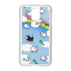 Sweet Dreams  Samsung Galaxy S5 Case (white)