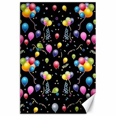 Balloons   Canvas 20  X 30   by Valentinaart
