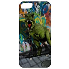 Urban T Rex Apple Iphone 5 Classic Hardshell Case by Valentinaart