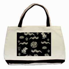 Aztecs Pattern Basic Tote Bag by Valentinaart