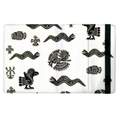 Aztecs Pattern Apple Ipad 3/4 Flip Case by Valentinaart