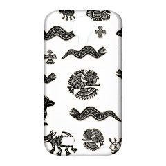 Aztecs Pattern Samsung Galaxy S4 Classic Hardshell Case (pc+silicone)