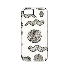Aztecs Pattern Apple Iphone 5 Classic Hardshell Case (pc+silicone) by Valentinaart
