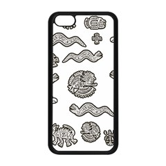 Aztecs Pattern Apple Iphone 5c Seamless Case (black)
