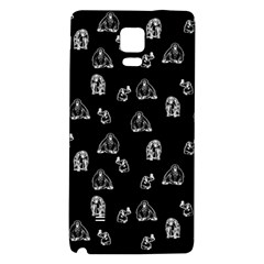 Chimpanzee Galaxy Note 4 Back Case by Valentinaart