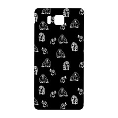 Chimpanzee Samsung Galaxy Alpha Hardshell Back Case by Valentinaart