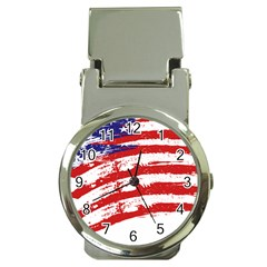 American Flag Money Clip Watches by Valentinaart