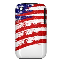 American Flag Iphone 3s/3gs by Valentinaart