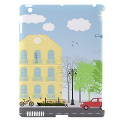 Urban Scene Apple Ipad 3/4 Hardshell Case (compatible With Smart Cover) by linceazul