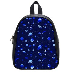Space Pattern School Bags (small)  by ValentinaDesign