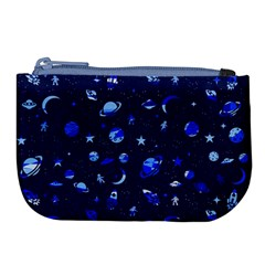 Space Pattern Large Coin Purse by ValentinaDesign