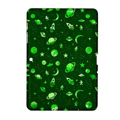 Space Pattern Samsung Galaxy Tab 2 (10 1 ) P5100 Hardshell Case  by ValentinaDesign