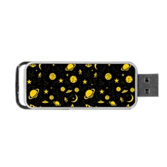 Space Pattern Portable Usb Flash (two Sides) by ValentinaDesign