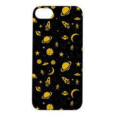 Space Pattern Apple Iphone 5s/ Se Hardshell Case by ValentinaDesign
