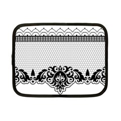 Transparent Lace Decoration Netbook Case (small)