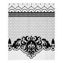 Transparent Lace Decoration Shower Curtain 60  X 72  (medium)  by Nexatart