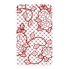 Transparent Decorative Lace With Roses Memory Card Reader by Nexatart