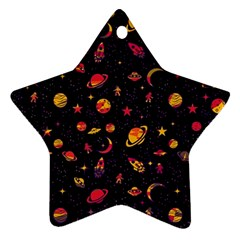 Space Pattern Ornament (star) by ValentinaDesign