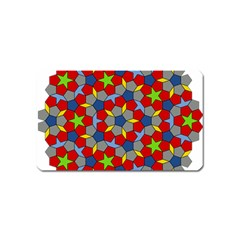 Penrose Tiling Magnet (name Card) by Nexatart