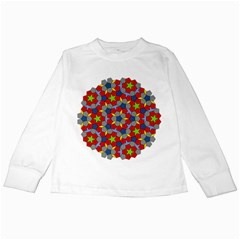 Penrose Tiling Kids Long Sleeve T-shirts