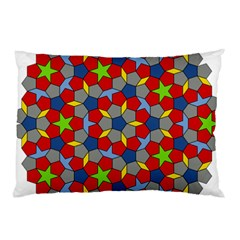 Penrose Tiling Pillow Case (two Sides)