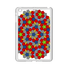 Penrose Tiling Ipad Mini 2 Enamel Coated Cases by Nexatart