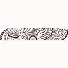 Henna Line Art Clipart Small Bar Mats by Nexatart