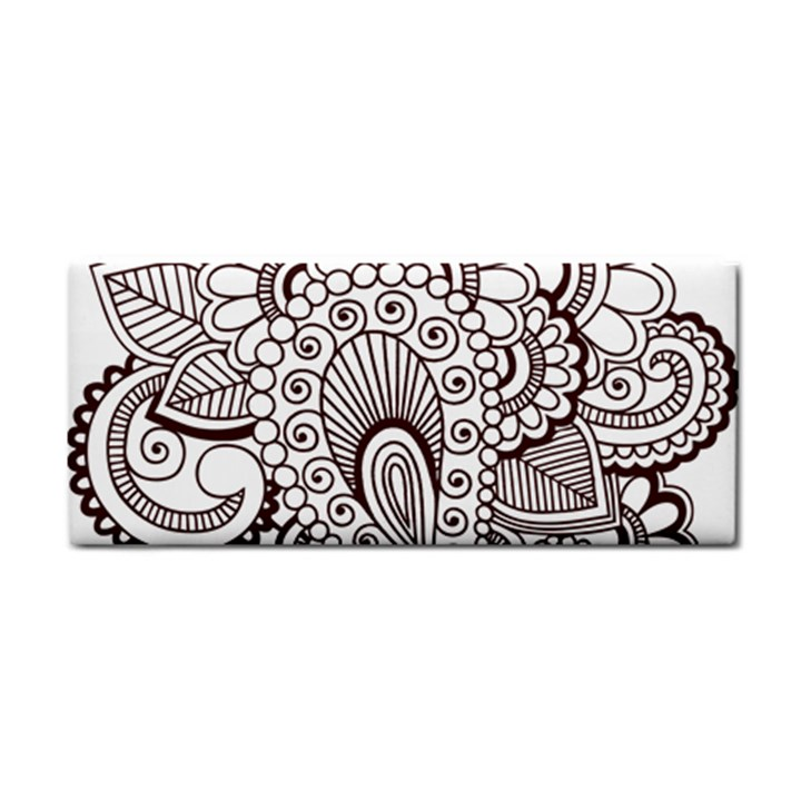 Henna Line Art Clipart Cosmetic Storage Cases