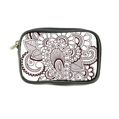 Henna Line Art Clipart Coin Purse by Nexatart