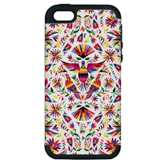 Otomi Vector Patterns On Behance Apple Iphone 5 Hardshell Case (pc+silicone) by Nexatart