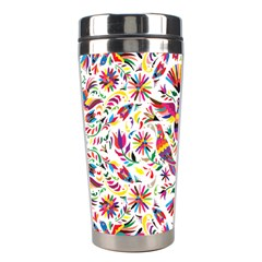 Otomi Vector Patterns On Behance Stainless Steel Travel Tumblers by Nexatart