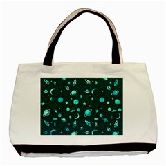 Space Pattern Basic Tote Bag (two Sides) by ValentinaDesign