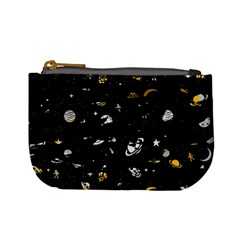 Space Pattern Mini Coin Purses by ValentinaDesign