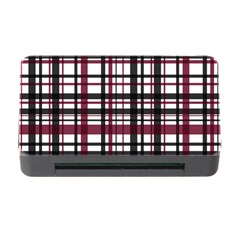 Plaid Pattern Memory Card Reader With Cf by ValentinaDesign