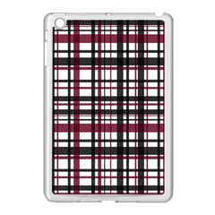 Plaid Pattern Apple Ipad Mini Case (white) by ValentinaDesign