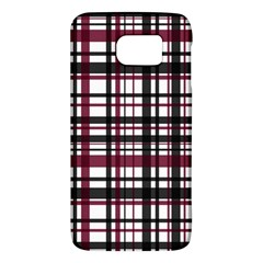 Plaid Pattern Galaxy S6 by ValentinaDesign