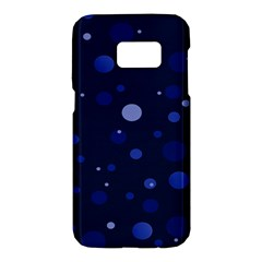 Decorative Dots Pattern Samsung Galaxy S7 Hardshell Case  by ValentinaDesign