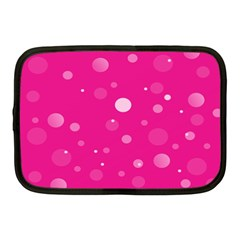 Decorative Dots Pattern Netbook Case (medium)  by ValentinaDesign