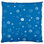 Decorative dots pattern Standard Flano Cushion Case (One Side) Front