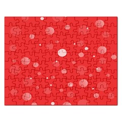 Decorative Dots Pattern Rectangular Jigsaw Puzzl by ValentinaDesign