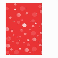 Decorative Dots Pattern Small Garden Flag (two Sides) by ValentinaDesign