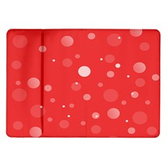Decorative Dots Pattern Samsung Galaxy Tab 10 1  P7500 Flip Case by ValentinaDesign