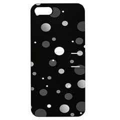 Decorative Dots Pattern Apple Iphone 5 Hardshell Case With Stand by ValentinaDesign