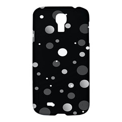 Decorative Dots Pattern Samsung Galaxy S4 I9500/i9505 Hardshell Case