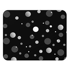 Decorative Dots Pattern Double Sided Flano Blanket (large)  by ValentinaDesign