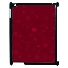 Decorative Dots Pattern Apple Ipad 2 Case (black) by ValentinaDesign
