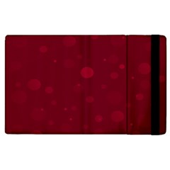 Decorative Dots Pattern Apple Ipad 2 Flip Case by ValentinaDesign