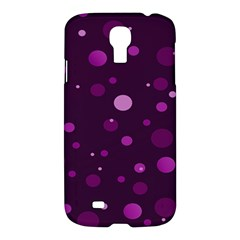 Decorative Dots Pattern Samsung Galaxy S4 I9500/i9505 Hardshell Case by ValentinaDesign