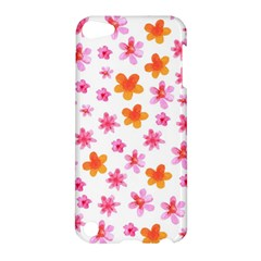 Watercolor Summer Flowers Pattern Apple Ipod Touch 5 Hardshell Case by TastefulDesigns