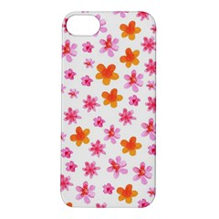 Watercolor Summer Flowers Pattern Apple Iphone 5s/ Se Hardshell Case